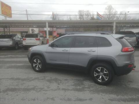 2014 Jeep Cherokee for sale at Lewis Used Cars in Elizabethton TN