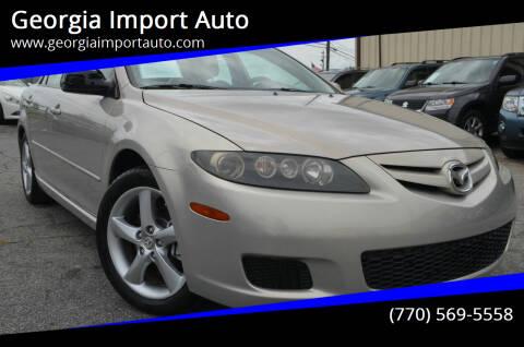 2008 Mazda MAZDA6 for sale at Georgia Import Auto in Alpharetta GA