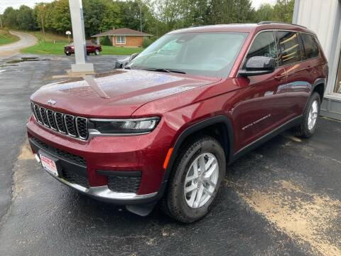 2021 Jeep Grand Cherokee L for sale at Louisburg Garage, Inc. in Cuba City WI