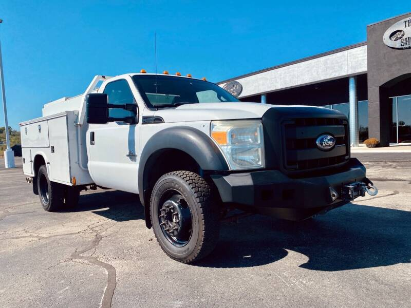 2011 Ford F-450 Super Duty for sale at The Truck Shop in Okemah OK