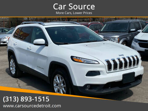 2014 Jeep Cherokee for sale at Car Source in Detroit MI