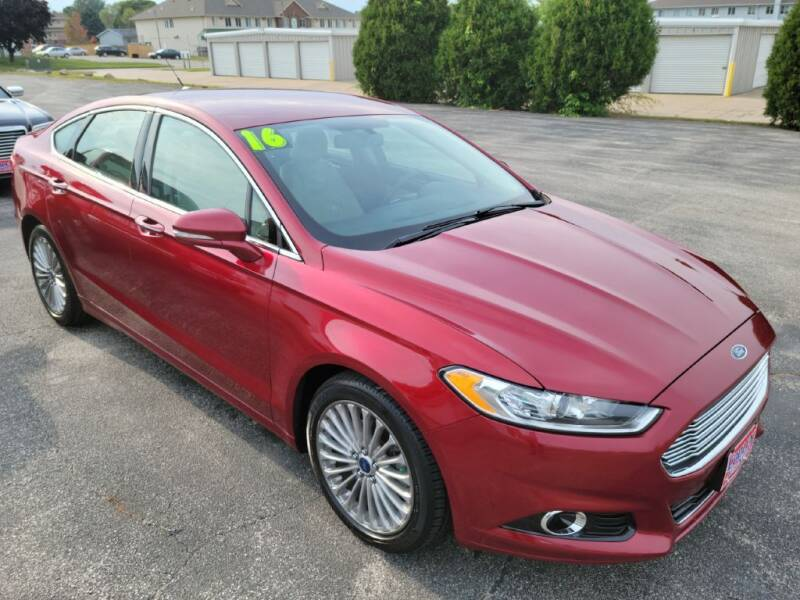 2016 Ford Fusion for sale at Cooley Auto Sales in North Liberty IA