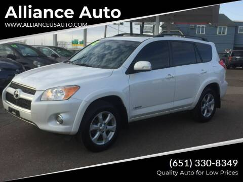 2012 Toyota RAV4 for sale at Alliance Auto in Newport MN
