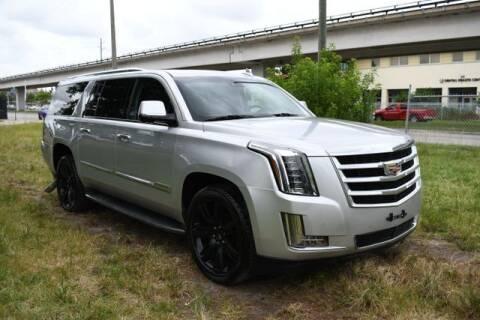 2016 Cadillac Escalade ESV for sale at AE Of Miami in Miami FL
