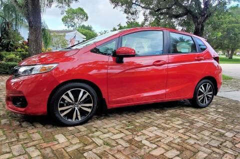 2020 Honda Fit for sale at POLLO AUTO SOLUTIONS in Miami FL