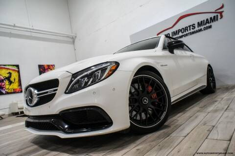 2017 Mercedes-Benz C-Class for sale at AUTO IMPORTS MIAMI in Fort Lauderdale FL