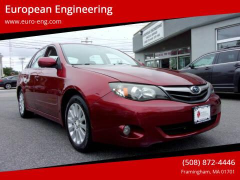 2010 Subaru Impreza for sale at European Engineering in Framingham MA