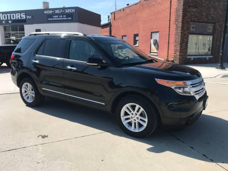 2013 Ford Explorer for sale at Kobza Motors Inc. in David City NE
