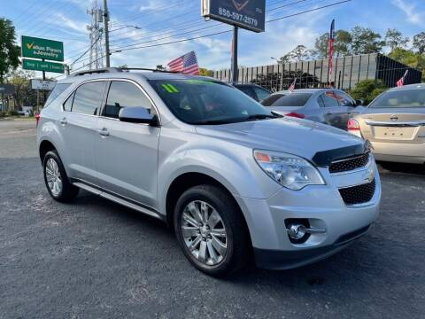 2011 Chevrolet Equinox for sale at The Strong St. Moses Auto Sales LLC in Tallahassee FL