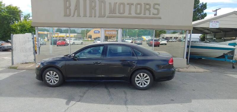 2015 Volkswagen Passat for sale at BAIRD MOTORS in Clearfield UT
