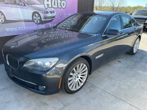 2012 BMW 7 Series for sale at Euro Auto in Overland Park KS