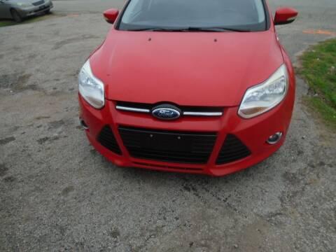 2012 Ford Focus for sale at SCOTT HARRISON MOTOR CO in Houston TX