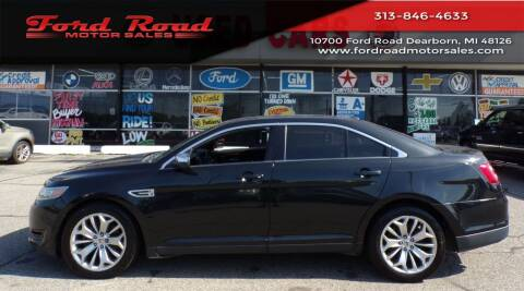 2013 Ford Taurus for sale at Ford Road Motor Sales in Dearborn MI