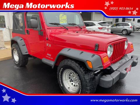 2005 Jeep Wrangler for sale at Mega Motorworks in Appleton WI