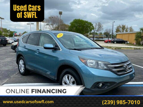 2014 Honda CR-V for sale at Used Cars of SWFL in Fort Myers FL