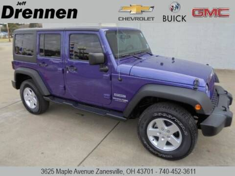 2018 Jeep Wrangler JK Unlimited for sale at Jeff Drennen GM Superstore in Zanesville OH