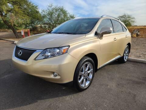 2010 Lexus RX 350 for sale at NEW UNION FLEET SERVICES LLC in Goodyear AZ