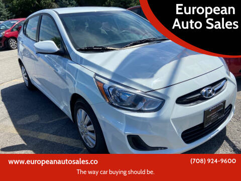 2016 Hyundai Accent for sale at European Auto Sales in Bridgeview IL