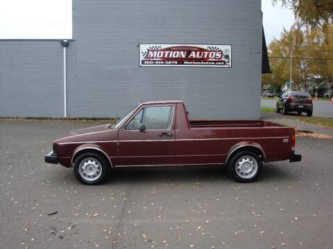 1982 Volkswagen Rabbit for sale at Motion Autos in Longview WA