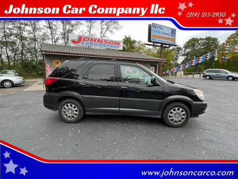 2005 Buick Rendezvous for sale at Johnson Car Company llc in Crown Point IN