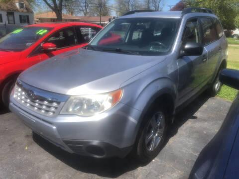 2013 Subaru Forester for sale at Trinity Motors in Lackawanna NY