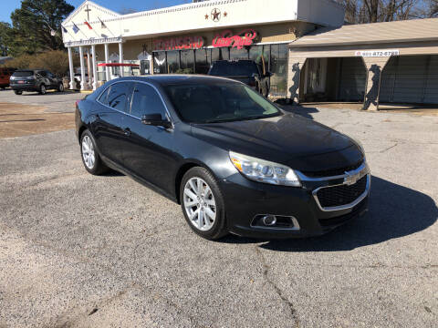 2015 Chevrolet Malibu for sale at Townsend Auto Mart in Millington TN