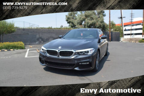 2018 BMW 5 Series for sale at Envy Automotive in Studio City CA