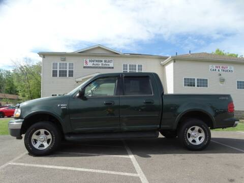 2002 Ford F-150 for sale at Cj king of car loans/JJ's Best Auto Sales in Troy MI