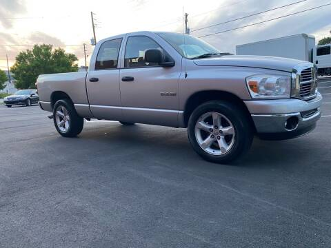 2008 Dodge Ram Pickup 1500 for sale at GTO United Auto Sales LLC in Lawrenceville GA