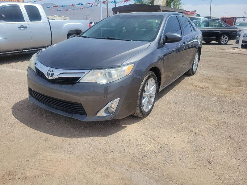 2012 Toyota Camry for sale at Bickham Used Cars in Alamogordo NM
