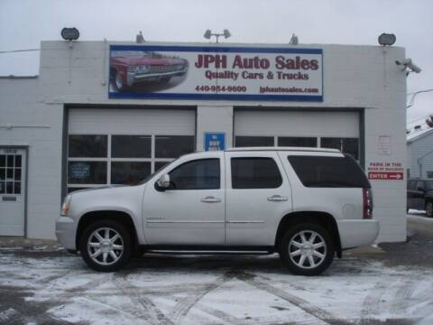 2011 GMC Yukon for sale at JPH Auto Sales in Eastlake OH