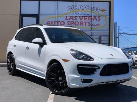 2014 Porsche Cayenne for sale at Las Vegas Auto Sports in Las Vegas NV