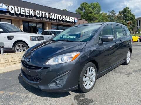 2014 Mazda MAZDA5 for sale at Queen City Auto Sales in Charlotte NC