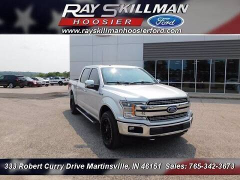 2018 Ford F-150 for sale at Ray Skillman Hoosier Ford in Martinsville IN