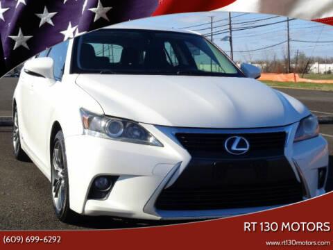 2014 Lexus CT 200h for sale at RT 130 Motors in Burlington NJ