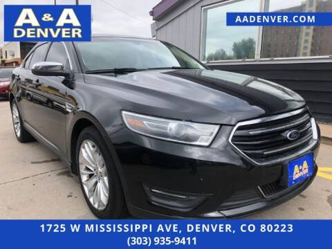 2014 Ford Taurus for sale at A & A AUTO LLC in Denver CO