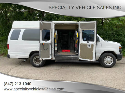 2009 Ford E-Series Cargo for sale at SPECIALTY VEHICLE SALES INC in Skokie IL