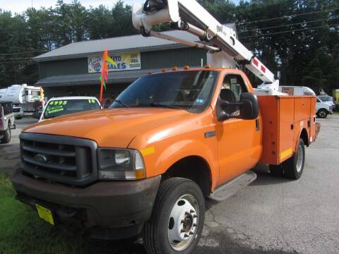 2002 Ford F-550 Super Duty for sale at Jons Route 114 Auto Sales in New Boston NH