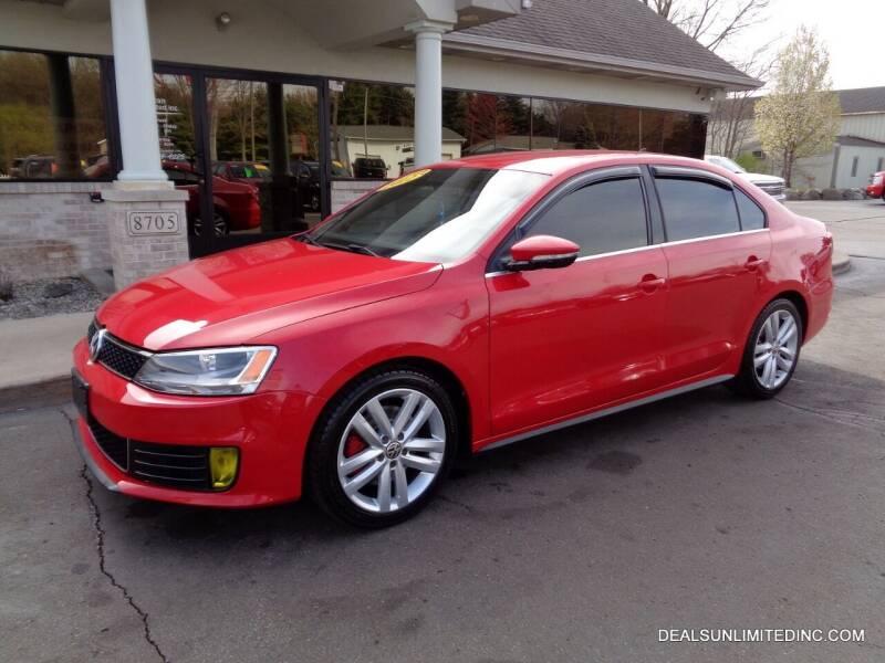 2012 Volkswagen Jetta for sale at DEALS UNLIMITED INC in Portage MI