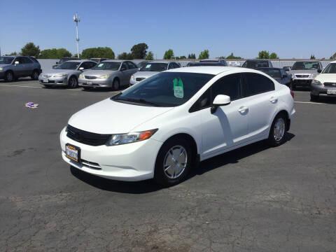 2012 Honda Civic for sale at My Three Sons Auto Sales in Sacramento CA