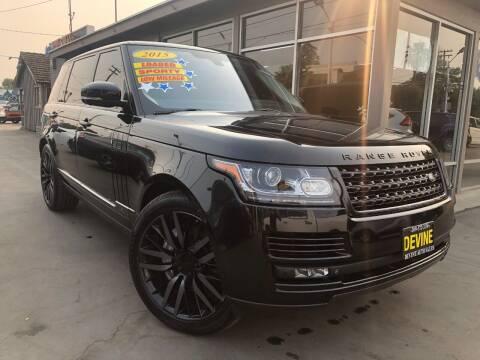 2015 Land Rover Range Rover for sale at Devine Auto Sales in Modesto CA