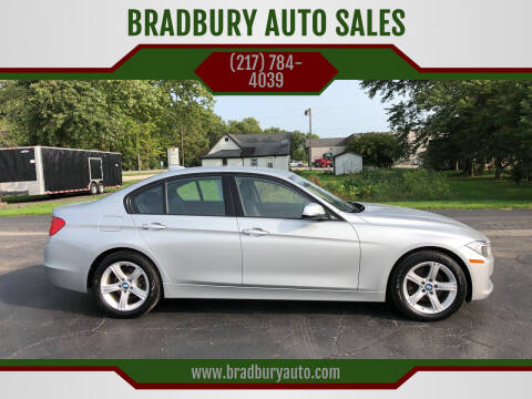 2015 BMW 3 Series for sale at BRADBURY AUTO SALES in Gibson City IL