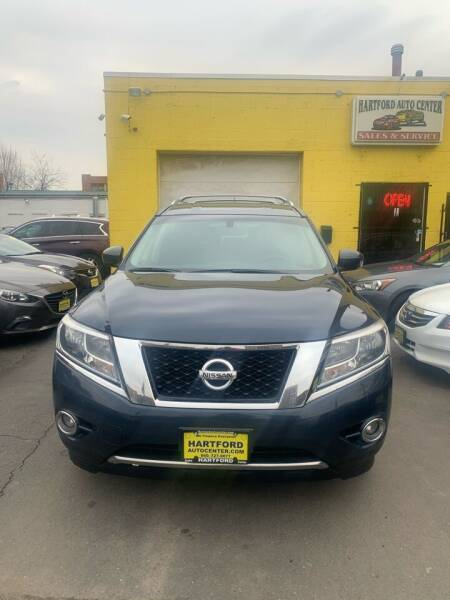 2014 Nissan Pathfinder for sale at Hartford Auto Center in Hartford CT