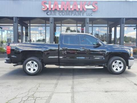 2015 Chevrolet Silverado 1500 for sale at Siamak's Car Company llc in Salem OR