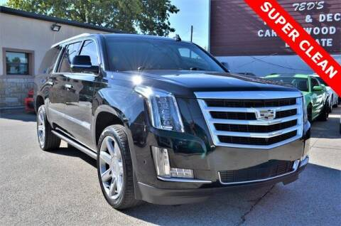 2017 Cadillac Escalade ESV for sale at LAKESIDE MOTORS, INC. in Sachse TX