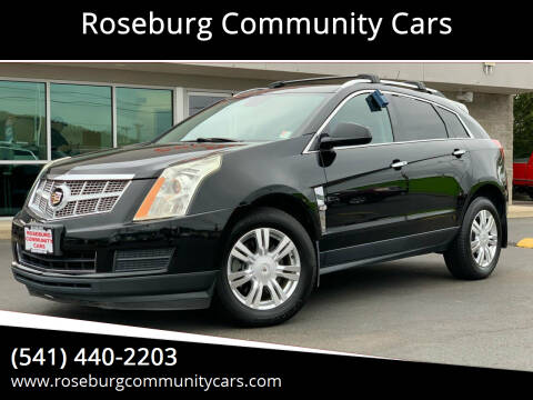 2012 Cadillac SRX for sale at Roseburg Community Cars in Roseburg OR