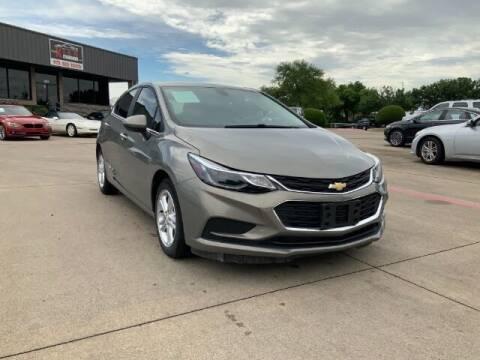 2018 Chevrolet Cruze for sale at KIAN MOTORS INC in Plano TX