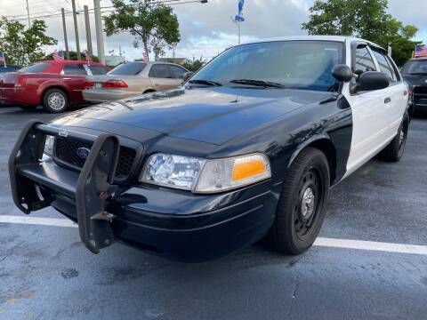 2011 Ford Crown Victoria for sale at KD's Auto Sales in Pompano Beach FL