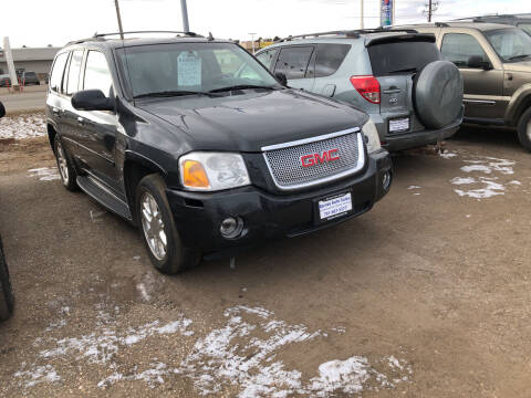 2008 GMC Envoy for sale at BARNES AUTO SALES in Mandan ND