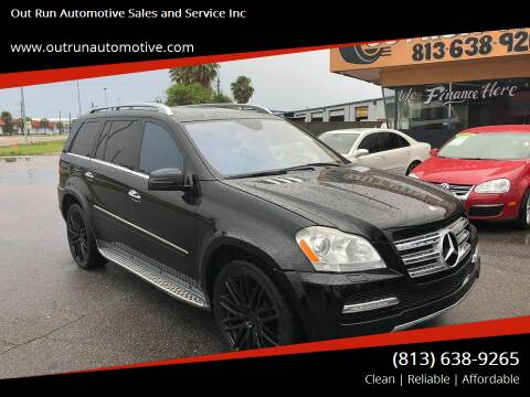 2012 Mercedes-Benz GL-Class for sale at Out Run Automotive Sales and Service Inc in Tampa FL